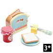 Toaster Set Pretend Play Wooden Toys