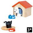 Pet Set Dog and Cat for dollhouse Le Toy Van