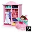 Rosebud Dolly Dress Up Le Toy Van