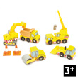 Construction Set (5 vehicles) Le Toy Van
