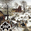 The Census at Bethlehem (Bruegel) Wooden Art Puzzle Puzzle Michèle Wilson