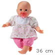 Interactive doll Bb Trsor with 4 functions - 36cm Corolle