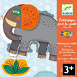 Colouring-in activity for kids - Zoo zoo Design by M. Attiogb Djeco