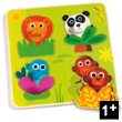 Junglanimo Wooden Large buttons puzzle