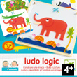 Ludo Logic - Eduludo Educational Game Djeco