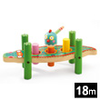 Crocodile Kikou Crock Wooden Hammer Toy Djeco