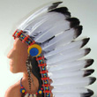 Chief's Headdress with 21 feathers Helga Kreft