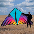 12-ft Riviera Highlighter Delta Kite Into The Wind