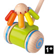 Merry-go-Round Wooden Pushing Toy - Haba Selection