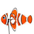 Eolienne Poisson-clown Magic Clownfish Colours in Motion