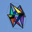 Astro Star Rainbow Box Kite Colours in Motion