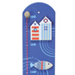 Seaside Wooden Height Chart Le Coin Des Enfants