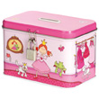 Tin Savings Box - Princess Pinky Queeny Sigikid