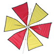 Roto Kite Red and yellow by Rudiger Groning Premier Kites