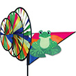 Triple Spinner Green Frog Outdoo Deco Premier Kites