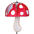 Magical Mushroom Red Polka-Dot Outdoor Deco Premier Kites & Designs