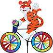 Cycling Tiger Decorative Garden Spinner Premier Kites & Designs