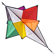 Kinetic Jewel Kite Cerf-volant monofil de Rainer Hoffmann HQ Kites