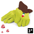 Natur' Pair of gardening gloves for kids Janod