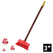 Natur&#039; Large Broom Pretend-play Garden Tools Janod