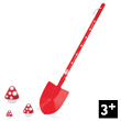 Cocci Large Spade Little gardeners&#039; tools Janod