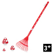 Large Leaf Rake Cocci for little gardeners Janod