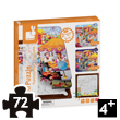 3-in-1 Fun Fair Multi Puzzle Janod