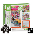 3-in-1 The Park Multi Puzzle Janod