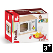 Picnik Microwave Oven Pretend-play Wooden Toy Janod