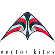 Vision Vector Kite 840 Series - Red Vortex Premier RC