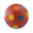 Red Dotted Small Playground Ball Ø13 cm Crocodile Creek