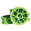 MBS Twistar Hubs (set of 4) green