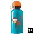 Monkey Stainless Steel Drinking Bottle Crocodile Creek