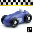 Mini Wooden Car Old Sport - Blue Vilac