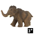 Young Mammoth Toy Figurine