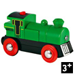 Two Way Battery Powered Engine - Green BRIO