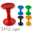 Sporthocker SH2 Light 1.8kg rouge