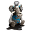 Pocken Paule Little Elephant Plush Beasts Sigikid