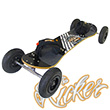 Kheo Kicker All-Terrain Board 9inch wheels - BLACK