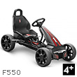 Black F550 Go-Cart for kids Puky