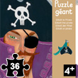 Elliott the Pirate Giant Puzzle 36 pieces Djeco