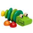 Rattle Wooden Croco Selecta