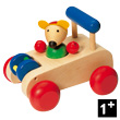 Car wooden mouse Autopino