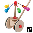 Wooden Push Toy Carousel
