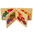 Picture book wooden vehicles Selecta