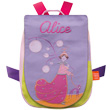 Back bag with embroidered first name - Damsel
