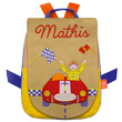 Back bag with embroidered first name - Race Car L'Oiseau Bateau