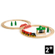 Circuit tradition en 8 - Train en bois BRIO