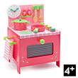 Lili Rose's Cooker Wooden Pretend-play Toy Djeco