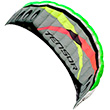 Tensor Power Kite with handles & control bar Prism Kites